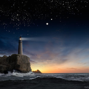 Lighthouse-Starry-Skies